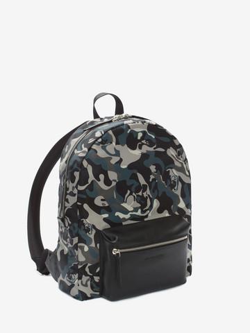 ALEXANDER MCQUEEN Camouflage Print Backpack Backpack Man r
