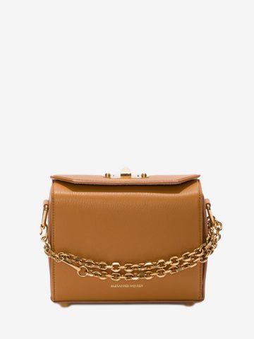 Box 19 grained-leather cross-body bag Alexander McQueen mRTN8X