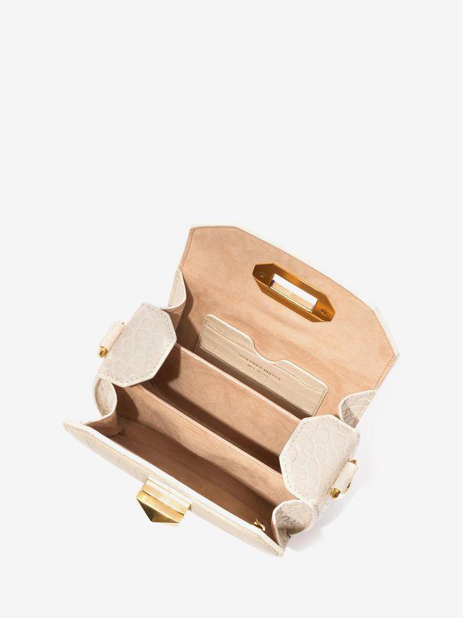 ALEXANDER MCQUEEN Box Bag 16 16 BOX BAG D e