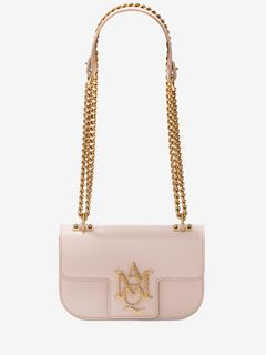 Small Insignia Chain Satchel