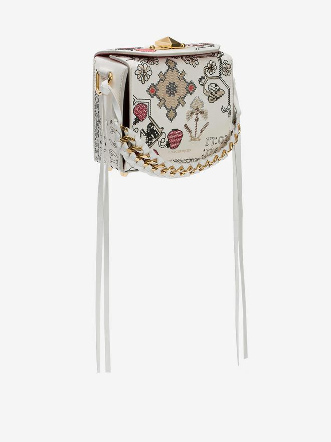 ALEXANDER MCQUEEN Box Bag 16 Fringe Box Bag D d