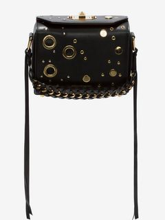 ALEXANDER MCQUEEN Box Bag Fringe D Box Bag 19 f