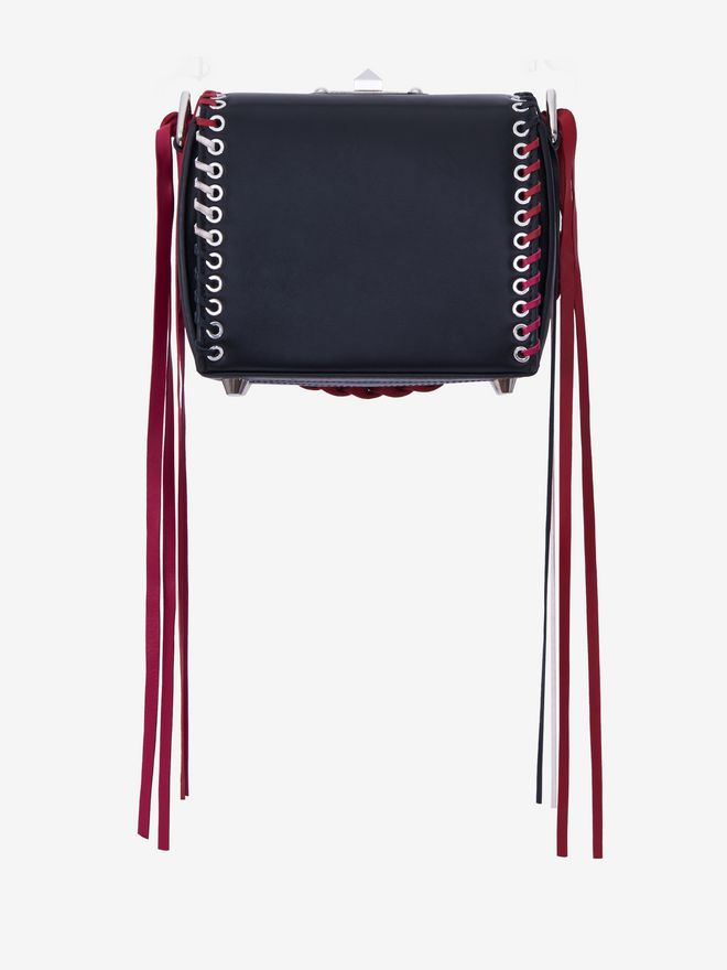 ALEXANDER MCQUEEN Box Bag 16 Fringe Box Bag Woman d