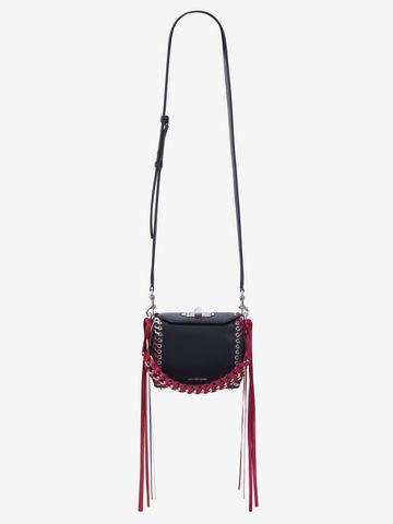 ALEXANDER MCQUEEN Box Bag 16 Fringe Box Bag Woman a