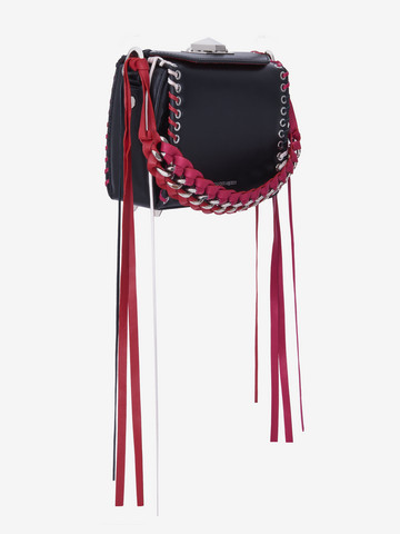 ALEXANDER MCQUEEN Box Bag 16 Fringe Box Bag Woman r