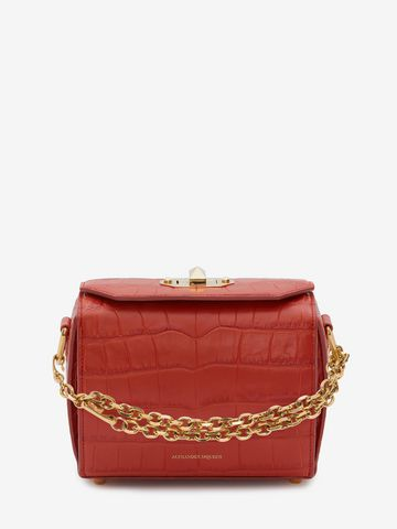 ALEXANDER MCQUEEN Box Bag 19 19 BOX BAG Woman f