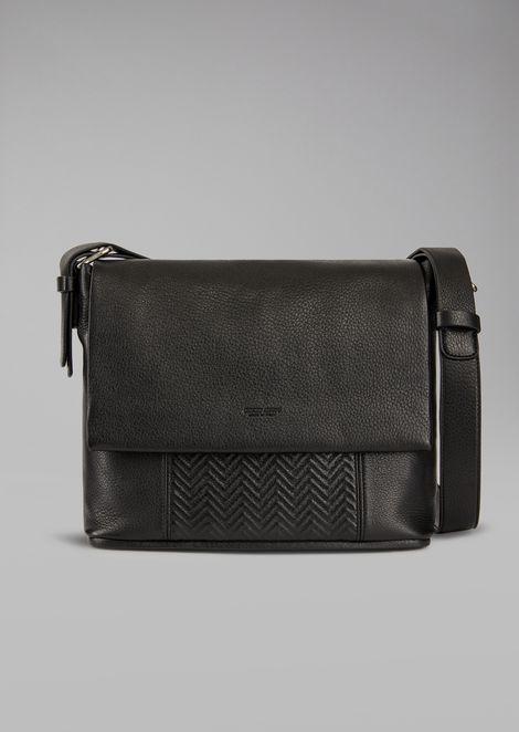 bdc946a41a Leather messenger bag