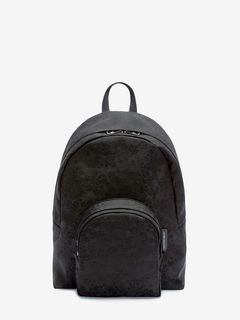 Small Jacquard Skull Backpack