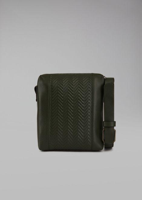 Deerskin Crossbody Bag for Men | Giorgio Armani | Tuggl