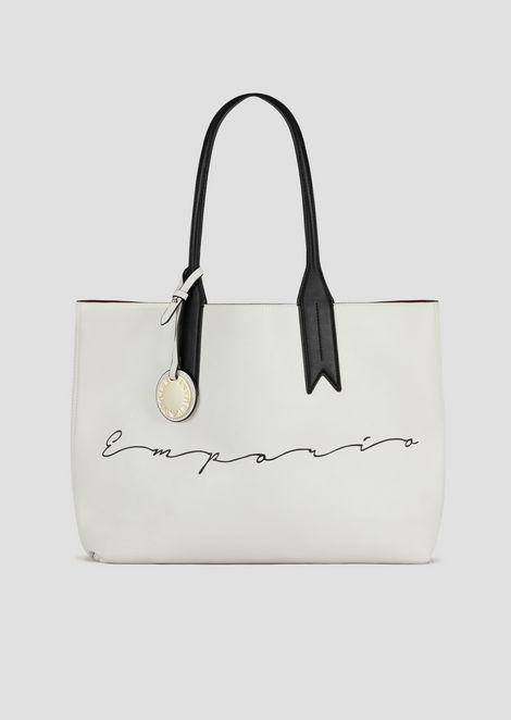 Shopping bag with Emporio Armani signature and logo charm  1e5ee70a180b4