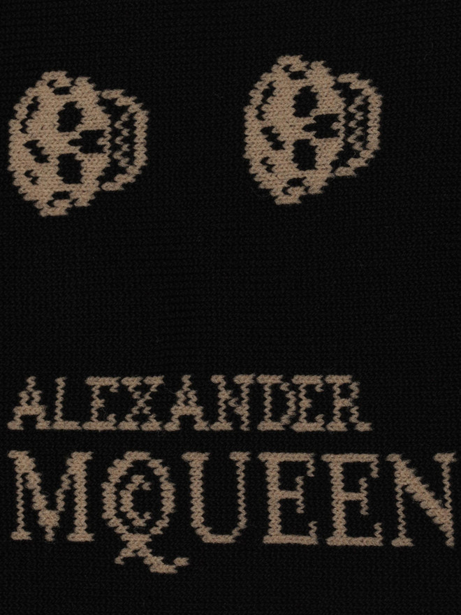 ALEXANDER MCQUEEN Short Skull Socks Sock U r