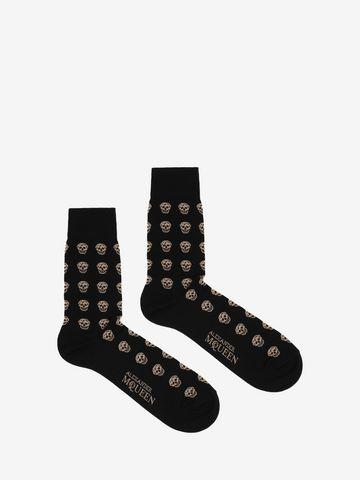 ALEXANDER MCQUEEN Short Skull Socks Sock Man f