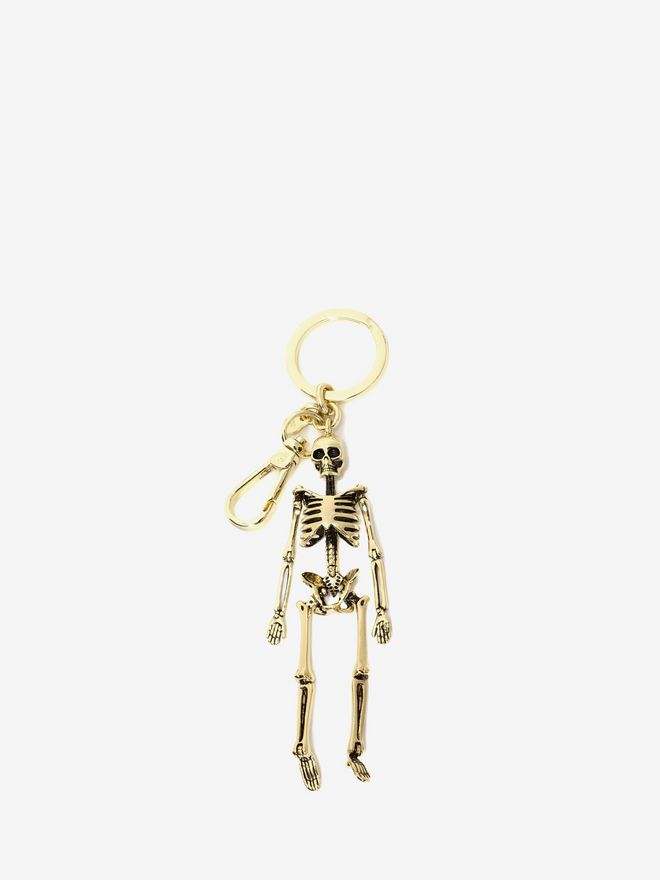 ALEXANDER MCQUEEN Skeleton Key Ring Keyring Man f