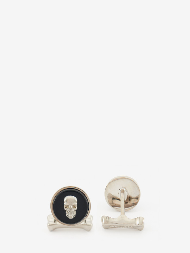 ALEXANDER MCQUEEN Skull Stone Cufflinks Cufflink U r