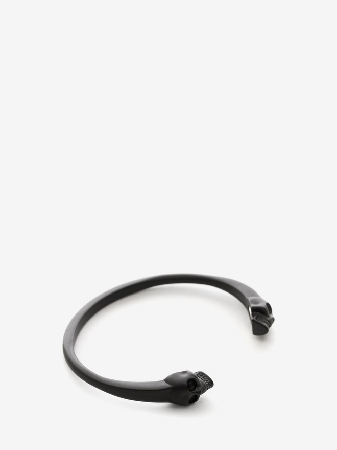 ALEXANDER MCQUEEN Twin Skull Bangle Bracelet U r