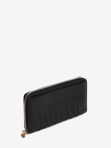ALEXANDER MCQUEEN Continental Zip Around Wallet ZIP AROUND WALLET Man r