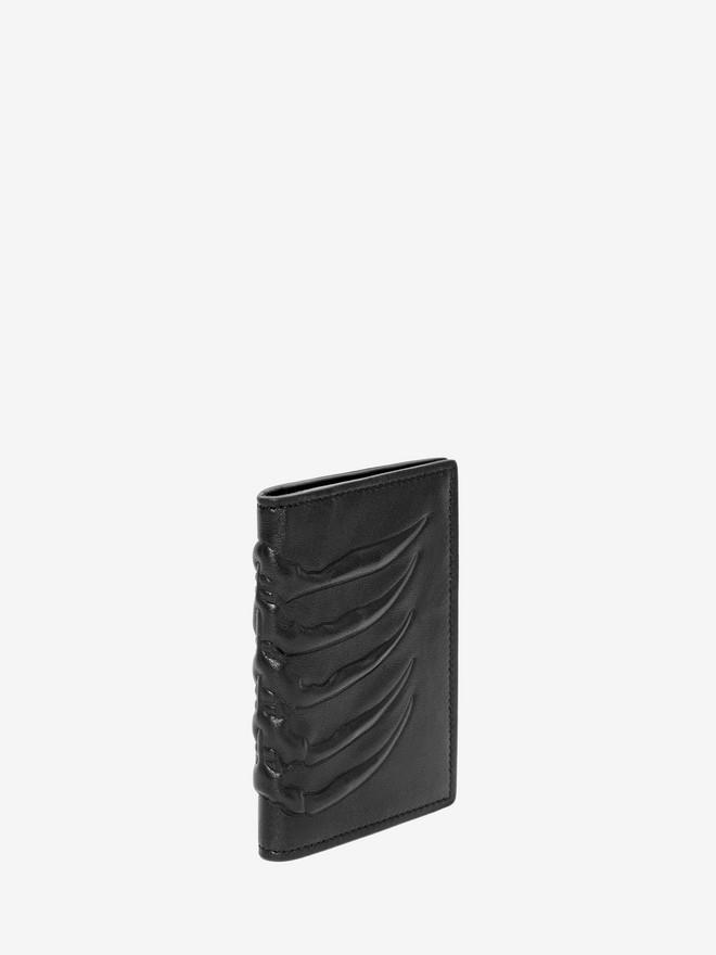 ALEXANDER MCQUEEN Ribcage Pocket Organizer POCKET ORGANISER Man r