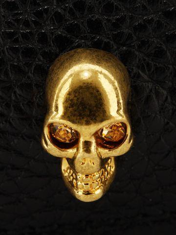 ALEXANDER MCQUEEN Leather Skull Card Holder Card Holder D e