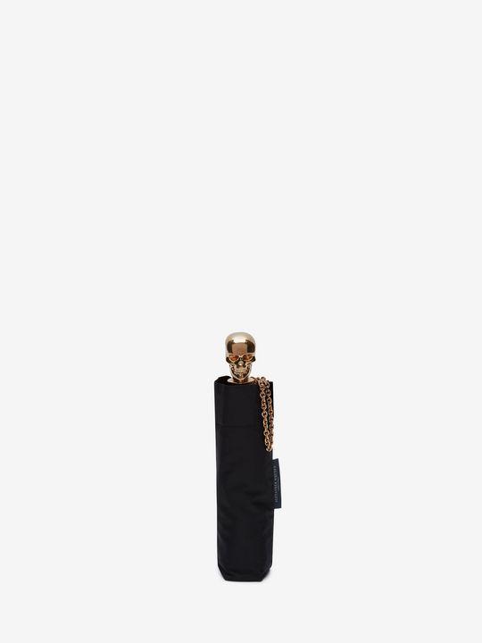 ALEXANDER MCQUEEN Umbrella Woman Black Skull Umbrella f