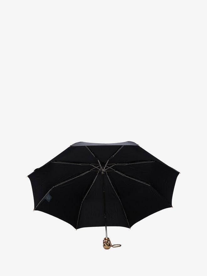 ALEXANDER MCQUEEN Black Skull Umbrella Umbrella D d
