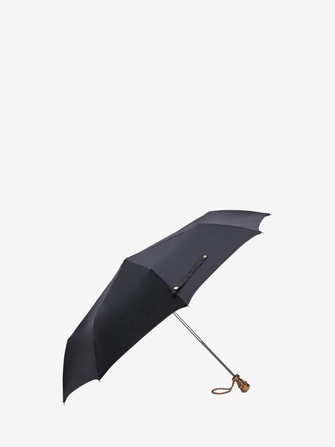 ALEXANDER MCQUEEN Black Skull Umbrella Umbrella D r