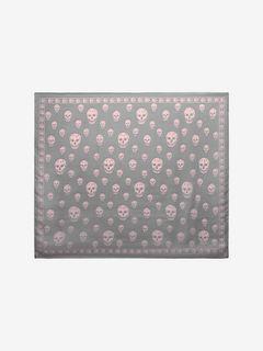 Foulard Skull Classico in Chiffon di Seta