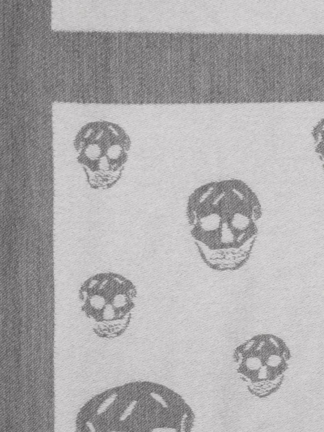 ALEXANDER MCQUEEN Big Skull Cape Cape D d