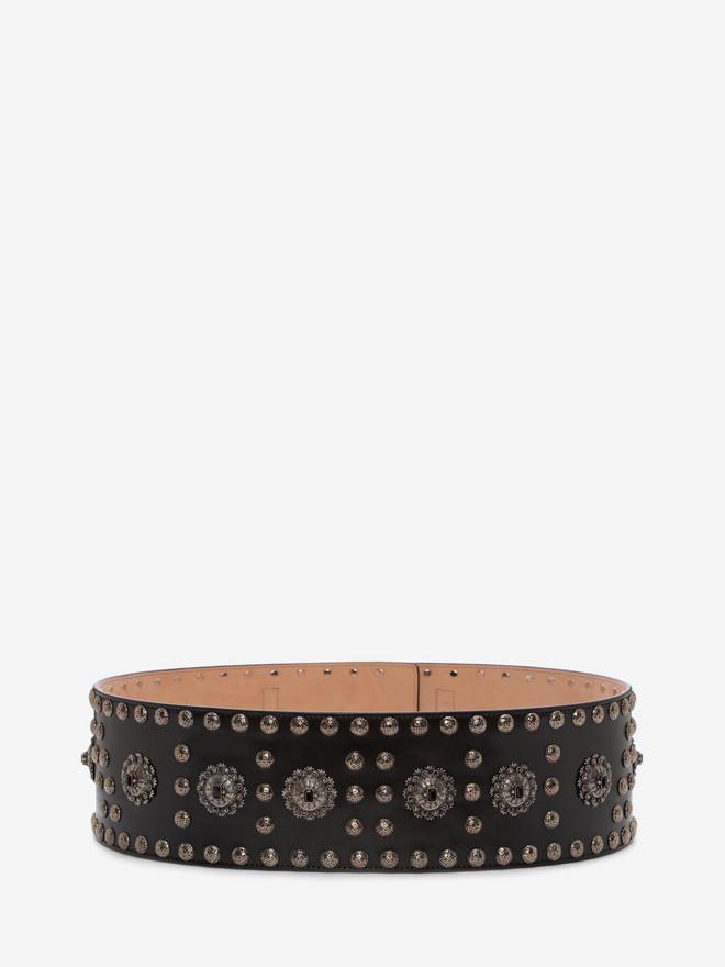ALEXANDER MCQUEEN Embellished Waist Belt Belt D r