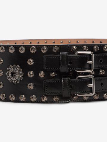 ALEXANDER MCQUEEN Embellished Waist Belt Belt D d