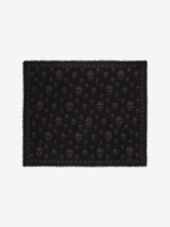 CLASSIC SKULL CASHMERE SCARF