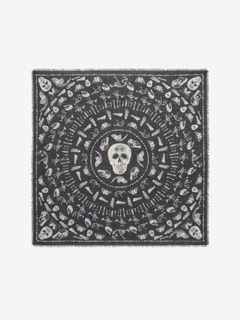 Skulls and Bones Scarf