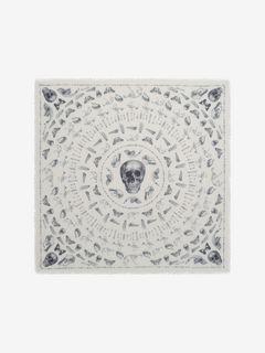 Foulard Skull et os