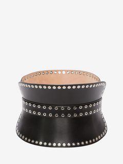 Studded Corset Belt