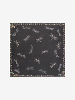 Foulard libellules