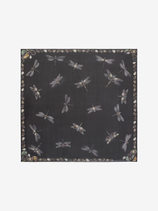 ALEXANDER MCQUEEN Dragonfly Scarf Seasonal Scarf D f
