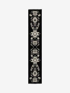 Écharpe au motif skull baroque