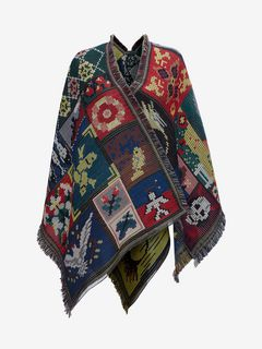 Tapestry Patchwork Cape