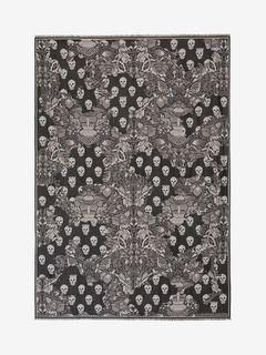 Medieval Wornaway Skull Blanket