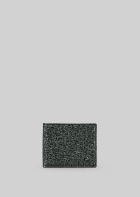 LEATHER WALLET for Men | Giorgio Armani | Tuggl