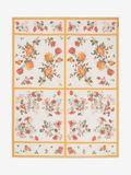 Floral Tablecloth Shawl