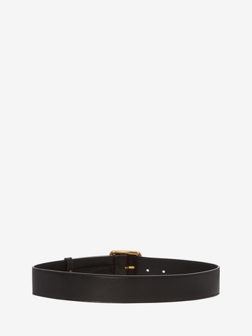 ALEXANDER MCQUEEN Leather Belt Belt D r