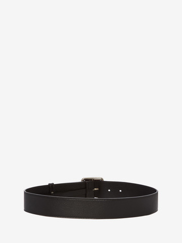 ALEXANDER MCQUEEN Leather Belt Belt Woman r