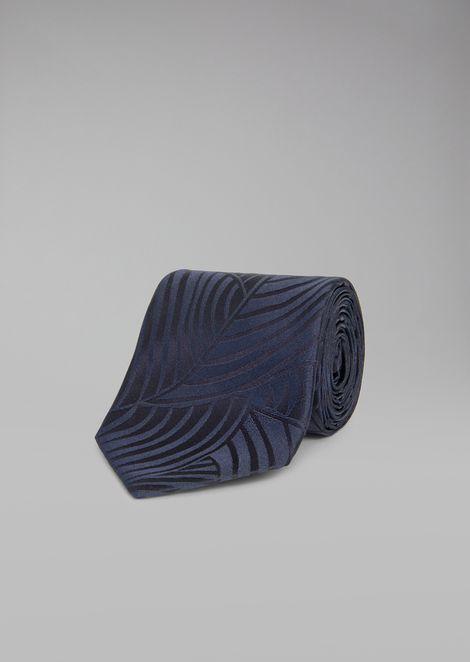 Pure Silk Tie for Men | Giorgio Armani | Tuggl