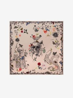 Treasure Skull Shawl