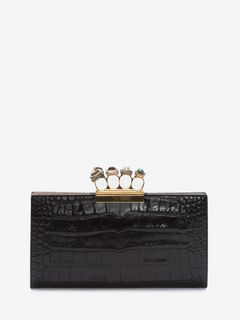 Jeweled Four-Ring Pouch