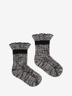 Tweed Ankle Socks