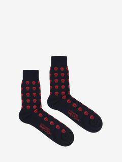 Short Skull Socks