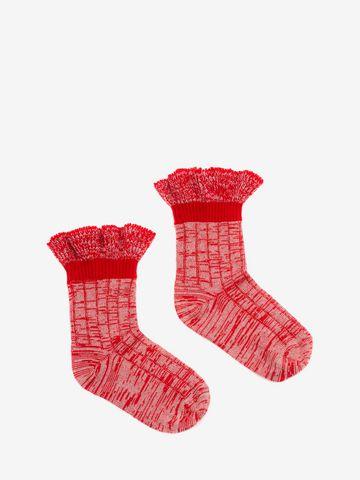 ALEXANDER MCQUEEN Tweed Ankle Socks Sock D f