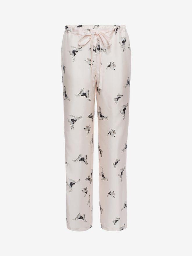 ALEXANDER MCQUEEN Moth Silk Pyjamas  Pyjama D a