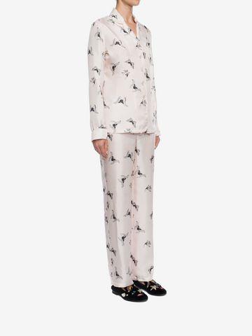 ALEXANDER MCQUEEN Moth Silk Pyjamas  Pyjama D d